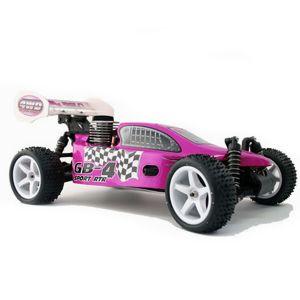 BUGGY OFF-ROAD SCOPPIO 1:10 4X4 MACCHINA RADIOCOMANDATA 4WD GB-4 AUTO STERRATO SABBIA FANGO