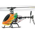 ELICOTTERO E-RIX 450 RADIOCOMANDATO 6 CANALI 2,4 GHZ 3D JAMARA 031592 RTF ALLUMINIO PRONTO VOLO