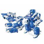KIT ROBOT SOLARE MODELLISMO CON PANNELLO FOTOVOLTAICO TRANSFORMERS 3 IN 1 JAMARA 400235