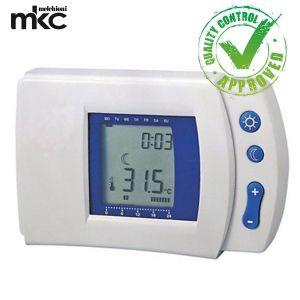 CRONOTERMOSTATO DIGITALE TIMER RICONDIZIONATO MKC DISPLAY LCD HP-510T PROGRAMMABILE CASA MELCHIONI