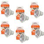 LAMPADINA FARETTO LED 500LM 6W ANTIRIFLESSO 3000K IP20 GU10 LAMPADA FSL 6 PEZZI