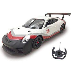 PORSCHE 911 GT3 CUP MACCHINA RADIOCOMANDATA 1:14 UFFICIALE PISTA LUCI RC AUTO