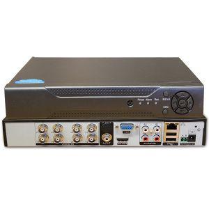 DVR VIDEOREGISTRATORE DIGITALE IBRIDO HVR 8 CANALI HDMI VIDEOSORVEGLIANZA 8408