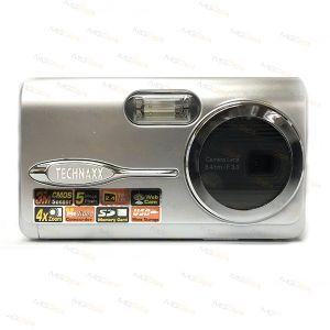 "FOTOCAMERA DIGITALE 5MEGA PIXELS DISPLAY LCD 2.4"" WEBCAM MODE ZOOM 4X FOTO"
