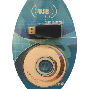 ADATTATORE USB SCHEDA AUDIO PLUG E PLAY INGRESSO AUDIO JACK CUFFIE MICROFONO CD