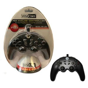 JOYSTICK GAMEPAD CONTROLLER TELECOMANDO ANALOGICO PS3 PC GIOCO GAME CONSOLE USB