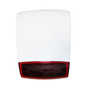 SIRENA WIRELESS LUMINOSA LED DEFENDER L ANTIFURTO ALLARME PER CENTRALE 868 CASA