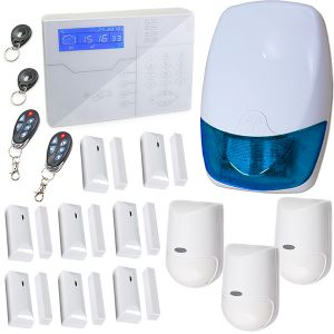 KIT ALLARME CASA ANTIFURTO PROFESSIONALE 868MHz GOLD GSM APP WIRELESS DEFENDER