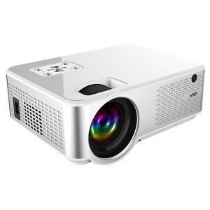 PROIETTORE VIDEO LCD ILLUMINAZIONE LED ALTA DEFINIZIONE LUMINOSITÀ HD-720P  HDMI USB CASA CINEMA  ELETTRONICA