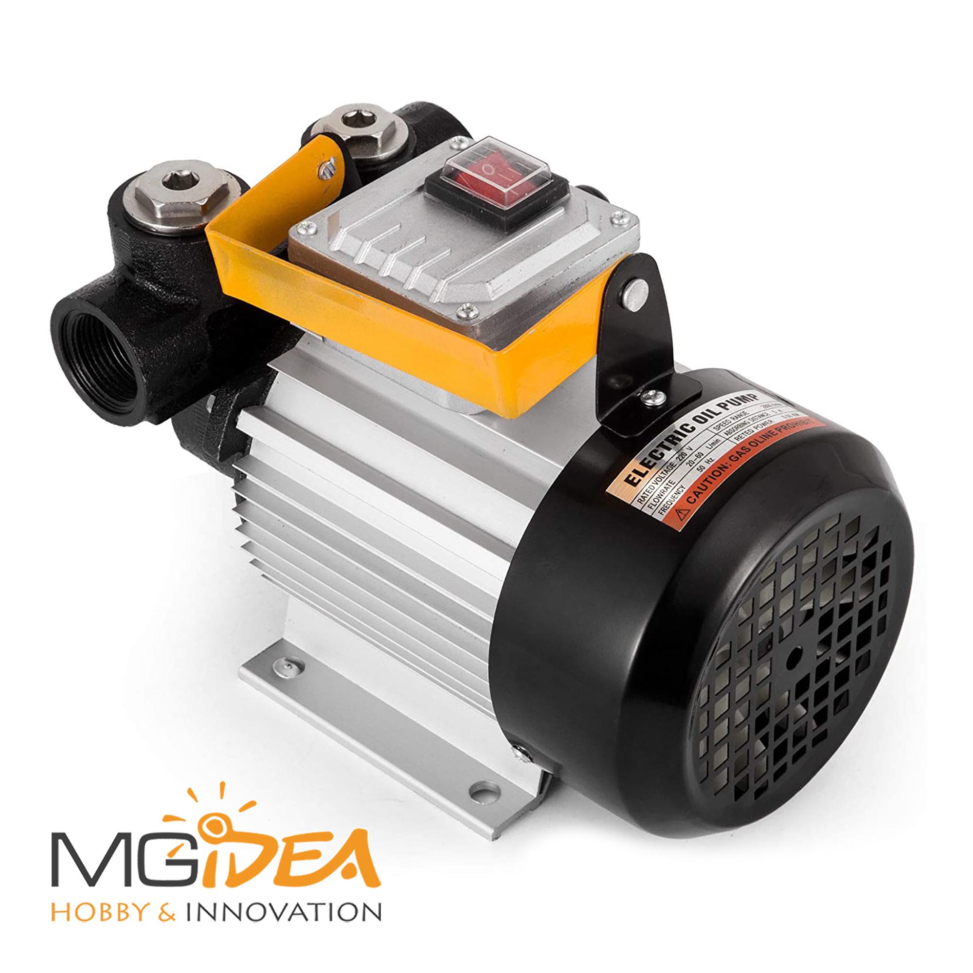 pompa di estrazione di olio di fluido diesel motore auto di trasferimento di carburante di aspirazione di olio 250 l//ora e tubi Pompa di olio per auto DC 12 V 60 W
