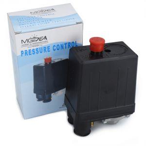 PRESSOSTATO REGOLABILE MECCANICO MONOFASE POMPA COMPRESSORE ARIA CASA MGIDEA SK-8 230V 10A 3/8 BAR IP44