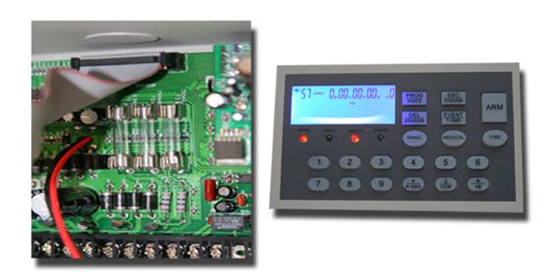 Centrale allarme professionale antifurto gsm ptsn wireless - Antifurto fatto in casa ...