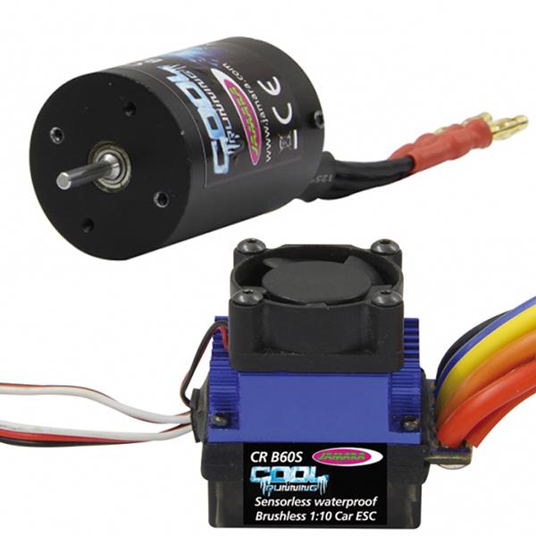 Schema Elettrico Regolatore Per Motori Brushless : Kit brushless auto cool running motore regolatore