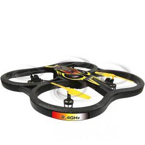QUADRICOTTERO ACROBATICO FLIP SLIDES DRONE INVADER LUCI 2.4 GHZ RADICOMANDATO RC