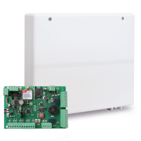 CENTRALE ANTIFURTO AMC ITALIA C24 PLUS MODULO GSM INTEGRATO CON NUOVA TASTIERA KLCD CON DISPLAY LCD