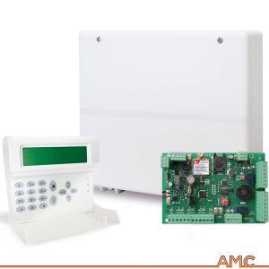 CENTRALE ANTIFURTO AMC ITALIA C24 PLUS GSM TASTIERA K-LCD VOICE DISPLAY LCD