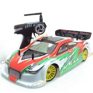 MACCHINA ELETTRICA RADIOCOMANDATA FS-RACING NTE-4 1/10 4WD EP TUNING CAR PISTA RTR