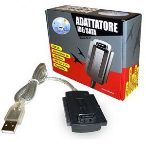 """ADATTORE CONVERTITORE USB 2.0 TO SATA/IDE 2,5"""" / 3,5"""" USB 2.0"""