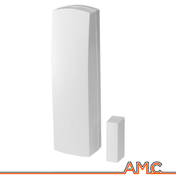 Sensore contatto magnetico wireless amc italia cu400 porte for Porte italia