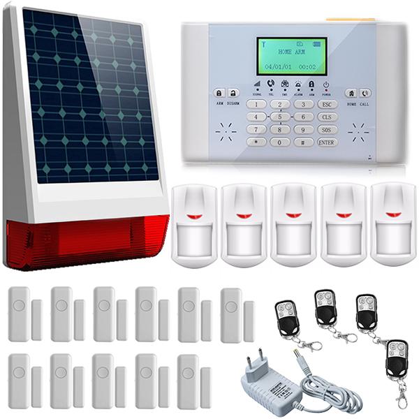 Allarme gsm solar antifurto sirena esterna wireless solare - Antifurti per casa i migliori ...