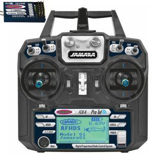 RADIOCOMANDO RADIO + RICEVENTE RC FCX-6 6 CANALI 2,4 GHZ DISPLAY TELEMETRIA PRO TEL