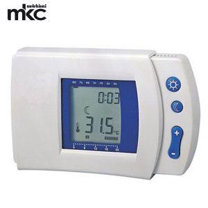 CRONOTERMOSTATO DIGITALE TIMER MKC DISPLAY LCD HP-510T PROGRAMMABILE CASA 7 FUNZIONI MELCHIONI