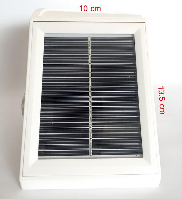 Pannello Solare Per Alimentare Telecamera : Pannello solare copertura telecamera sensore