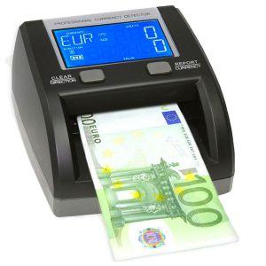 VALIDATORE CONTA BANCONOTE OK MONEY DISPLAY LCD EURO TUTTI I TAGLI BATTERIA TAMPONE