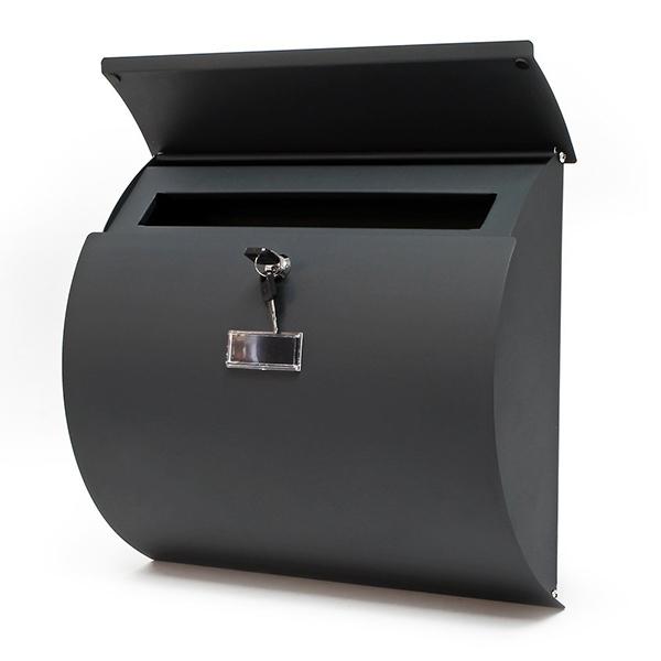 Cassetta posta postale lettere design antracite chiavi impermeabile da parete ebay - Cassetta postale design ...