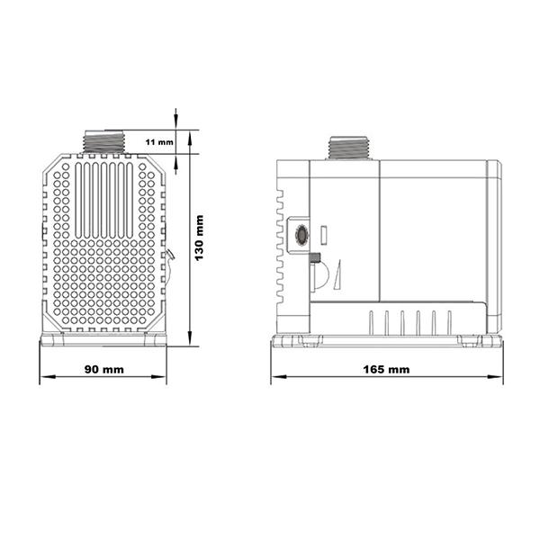 Pompa per acquario cascate ruscelli stagno filtro 100w for Depuratore per acquario tartarughe