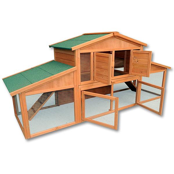 Il Gigante Tavoli Da Giardino.Capanna Da Giardino Per Animali E Volatili Xxl Gigante In Legno