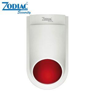 SIRENA ALLARME DA ESTERNO WIRELESS ZODIAC LAMPEGGIANTE ZAC-07A 120DB