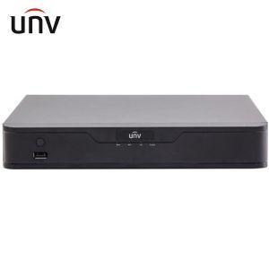 NVR UNIVIEW 4 CANALI POE VIDEO SORVEGLIANZA 8MPX 4K H265 REGISTRAZIONE CAMERA